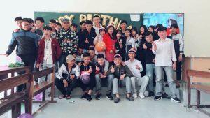 Bài dự thi viết về mái trường và thầy cô của học sinh Lê Thị Hồng Phượng lớp 11A3