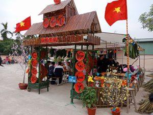 Hội trại xuân 2018 trường THPT Nguyễn Công Hoan