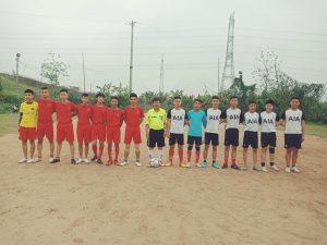 Cập nhật tình hình giải bóng đá nam chào mừng kỉ niệm ngày thành lập Đoàn 26/03