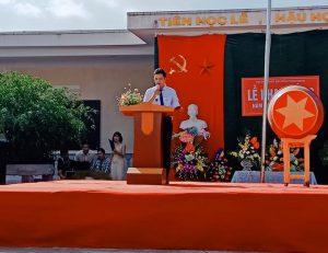 Trường THPT Nguyễn Công Hoan khai giảng năm học 2018-2019