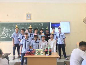 Tôi tự hào là tân học sinh trường THPT Nguyễn Công Hoan