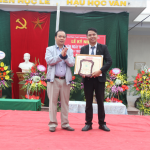 Thầy giáo Nguyễn Trung Dũng – Người Thầy Ưu tú của trường THPT Nguyễn Công Hoan