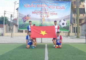 KHAI MẠC GIẢI BÓNG ĐÁ NGUYEN CONG HOAN'S CUP  NĂM HỌC 2019-2020