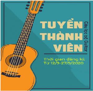 CLB GUITAR TRƯỜNG THPT NGUYỄN CÔNG HOAN
